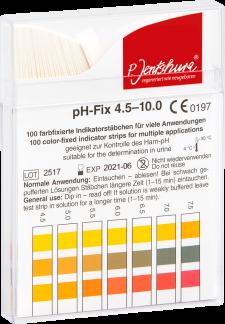 pH-Streifen – zur pH-Wert Bestimmung